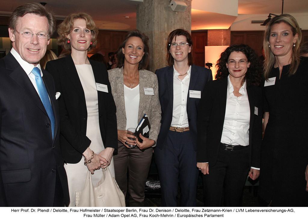 Diana Zetzmann-Krien bei der Initiative Leader.In von Deloitte BDI Handelsblatt - Quelle Deloitte